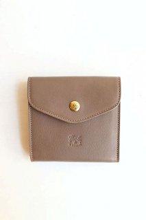 フラップボタン折財布/411304*WA#IB