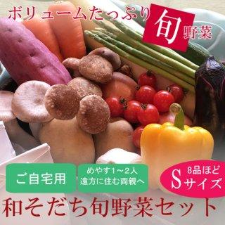 【ご自宅用】和そだち旬野菜セットSサイズ