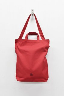 COET / 頭陀袋 CANVAS SHOULDER BAG - RED