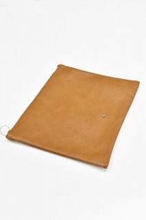 COET / INNER CLUTCH BAG - CAMEL