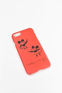 ディズニーアートコレクション /  スマホケースiPhone SE(第2世代)/8/7 ミッキー&ミニー /そで山かほ子