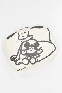ディズニーアートコレクション / ダイカットクッション/プルート/てらおかなつみ