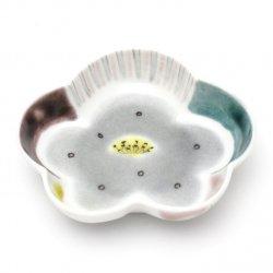 梅型小皿 [グレー]|宮薗聖衣子