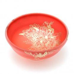 花鳥獣紋 盃 A [赤色]|清水早希