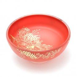 花鳥獣紋 盃 B [赤色]|清水早希