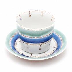 テキスタイル 碗皿|宮薗聖衣子
