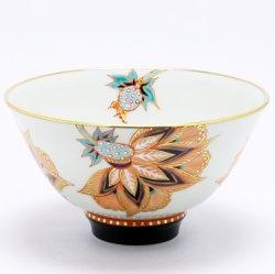 柘榴 抹茶碗|山下紫布