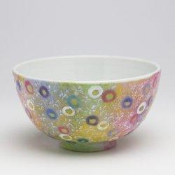 千の花 飯碗(小)|中川眞理子