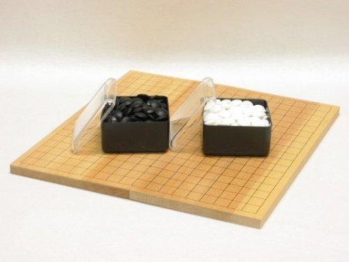 折碁盤・ガラス碁石(梅印PK)セット