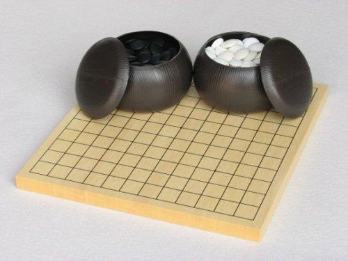 13路-9路碁盤・プラスチック碁石セット
