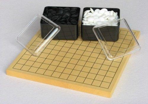 13路-9路碁盤・ガラス碁石(梅印PK)セット