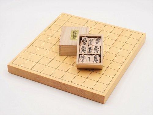 卓上将棋10号・駒 押彫セット