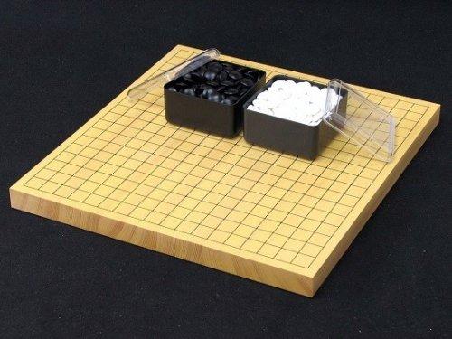 卓上碁盤10号・ガラス碁石(梅印PK)セット