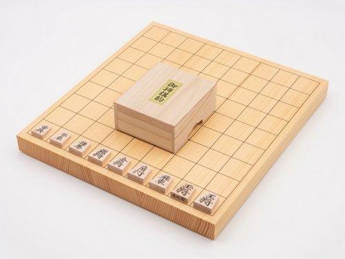 卓上将棋10号・駒 楓 上彫セット