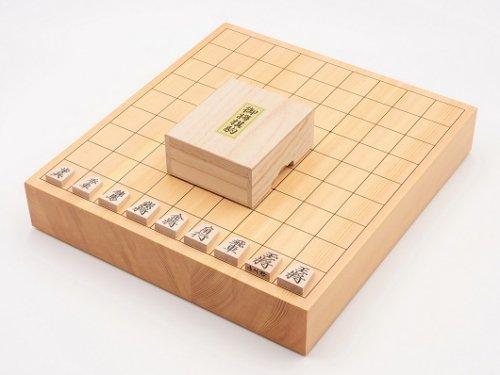 卓上将棋20号・駒 楓 上彫セット