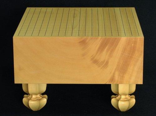 榧碁盤 板目 木裏 5.3寸      (送料無料)