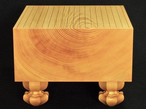 榧碁盤 板目 木裏 6.5寸      (送料無料)