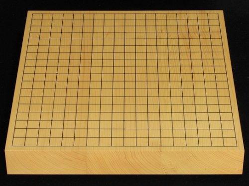 卓上碁盤 本榧 柾目 20号 接合盤 �4  (送料無料)