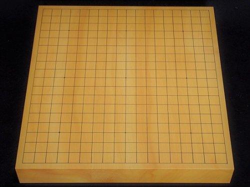 卓上碁盤 本榧 柾目 20号 接合盤 �3  (送料無料)
