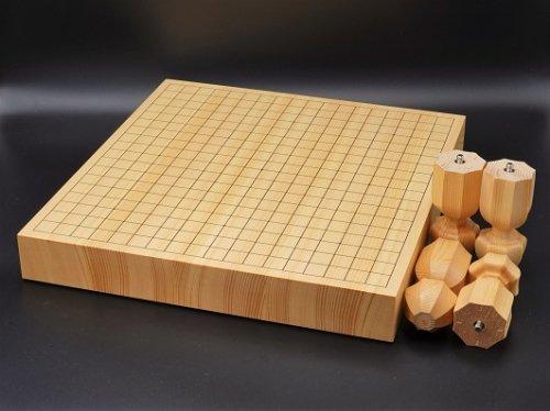 卓上・足付兼用碁盤 スプルース 20号  (送料無料)
