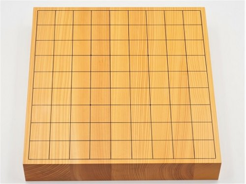 卓上将棋盤 本榧 柾目 20号 接合盤  No.2  (送料無料)