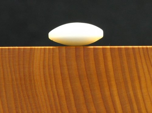 アウトレット              補充用ガラス碁石 白石 竹印 10粒