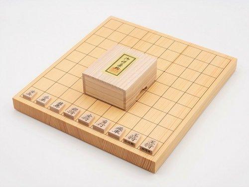 卓上将棋盤10号・駒 楓 菱湖書彫セット