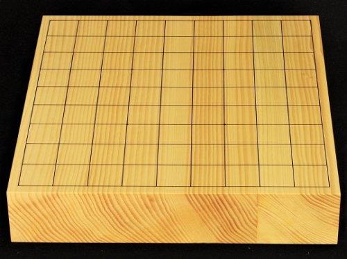 卓上将棋盤 本榧 柾目 20号 接合盤  No.3  (送料無料)