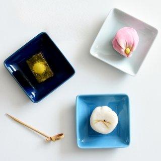 イロトリドリ 角小皿 全3色