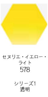 セヌリエ水彩絵具10mlチューブ:セヌリエ・イエロー・ライト