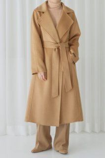 マーブルカシミヤ<Br>marble cashmere<Br>wide collar stitch<br> handmade coat<br>2colors