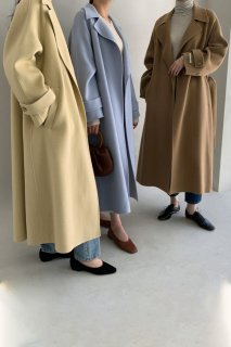 maxi soft<br>hand made coat<br>4colors