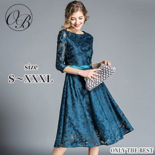 246bbbfdfe344 ... 3 高品質 結婚式 ドレス お呼ばれ ワンピース 20代 30代 40代 パーティードレス 二次会