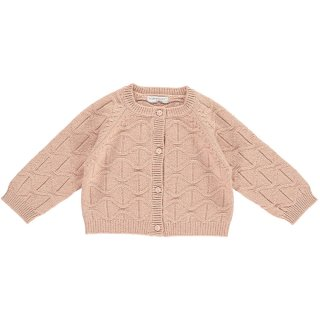 <img class='new_mark_img1' src='https://img.shop-pro.jp/img/new/icons60.gif' style='border:none;display:inline;margin:0px;padding:0px;width:auto;' />HAPPYOLOGY  ARLO BABY CARDIGAN, DUSTYROSE 0~24M