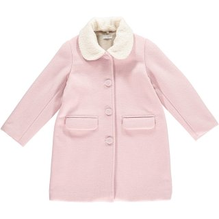 HAPPYOLOGY  JESSIE COAT, DUSTY PINK