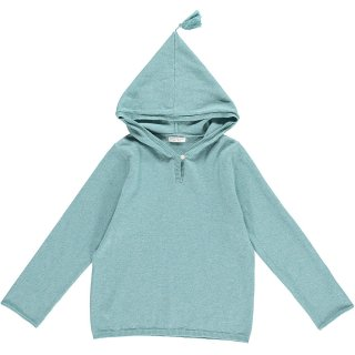 HAPPYOLOGY HADLEY KNITTED TOP, DUSTY MINT