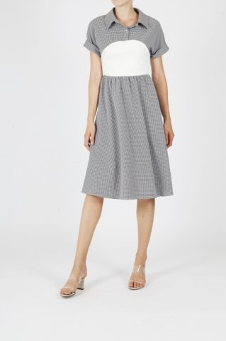 JOVONNA  EDWINDA DRESS-GREY UK6,UK8,UK10