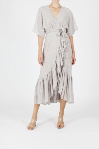 【30%OFF】JOVONNA  IMOGENE DRESS-GREY UK6,UK8,UK10