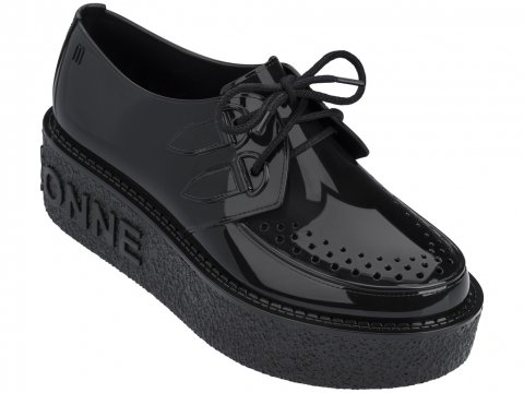 <img class='new_mark_img1' src='https://img.shop-pro.jp/img/new/icons22.gif' style='border:none;display:inline;margin:0px;padding:0px;width:auto;' />【20%OFF】Melissa  Melissa Creeper A La Garconne-BLACK
