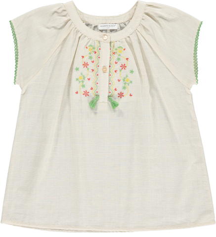 <img class='new_mark_img1' src='https://img.shop-pro.jp/img/new/icons22.gif' style='border:none;display:inline;margin:0px;padding:0px;width:auto;' />【30%OFF】HAPPYOLOGY  ERIN EMBROIDERY TOP, OAT 4-5Y,6-7Y,8-9Y
