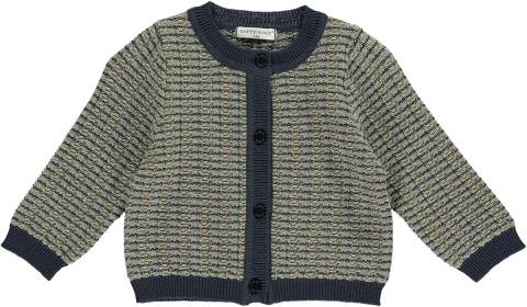 HAPPYOLOGY  ACHERNAR BABY CARDIGAN, TAUPE