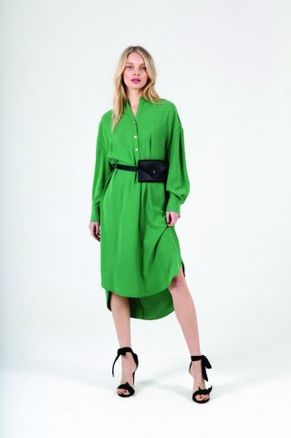 JOVONNA 2019AW GOA DRESS-GREEN