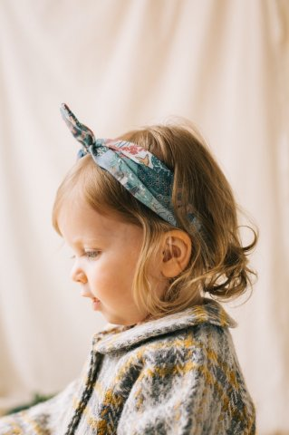 HAPPYOLOGY Cilla Headband, Green Forest 0M〜3Y