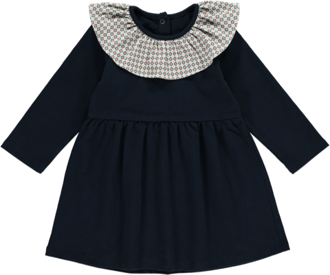 <img class='new_mark_img1' src='https://img.shop-pro.jp/img/new/icons5.gif' style='border:none;display:inline;margin:0px;padding:0px;width:auto;' />HAPPYOLOGY  Millie Dress, Midnight Blue 2Y〜3Y