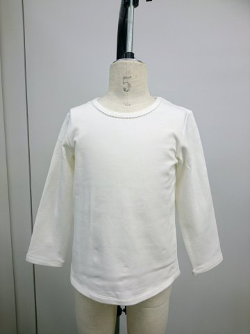 HAPPYOLOGY  Essential Organic Cotton T-Shirt, White 4Y〜8Y