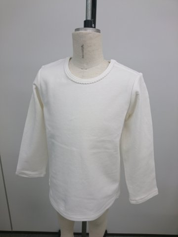 HAPPYOLOGY  Essential Organic Cotton T-Shirt, White 2Y〜3Y