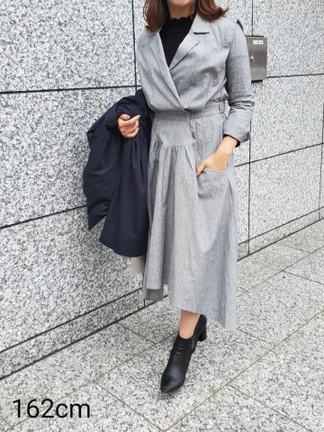 <img class='new_mark_img1' src='https://img.shop-pro.jp/img/new/icons5.gif' style='border:none;display:inline;margin:0px;padding:0px;width:auto;' />JOVONNA 2019AW Wendell Dress-Black
