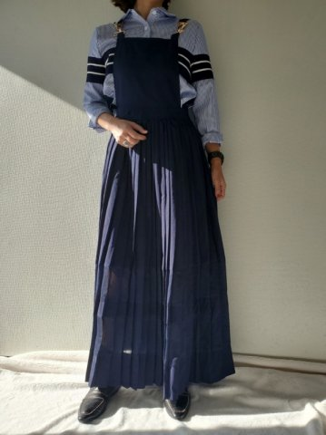 GHOSPELL Uniform Maxi Dress