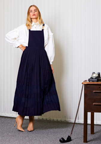 <img class='new_mark_img1' src='https://img.shop-pro.jp/img/new/icons5.gif' style='border:none;display:inline;margin:0px;padding:0px;width:auto;' />GHOSPELL Uniform Maxi Dress