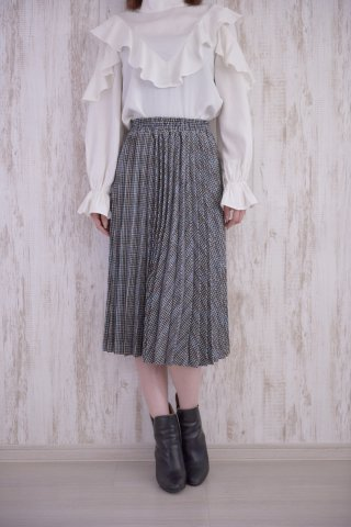 <img class='new_mark_img1' src='https://img.shop-pro.jp/img/new/icons5.gif' style='border:none;display:inline;margin:0px;padding:0px;width:auto;' />JOVONNA HORAI SKIRT-CHECK